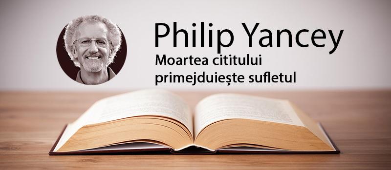 Moartea cititului primejduiește sufletul