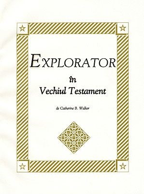Explorator în Vechiul Testament (SC)