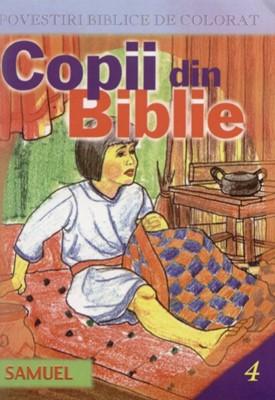 Povestiri biblice de colorat - Copii din Biblie