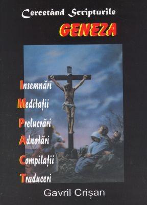 Cercetând Scripturile, GENEZA (SC)