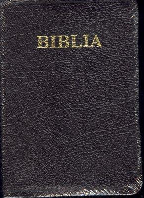 Biblia - format mediu, de lux, fără fermoar (Piele)