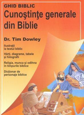Cunoştinţe generale din Biblie (sc)