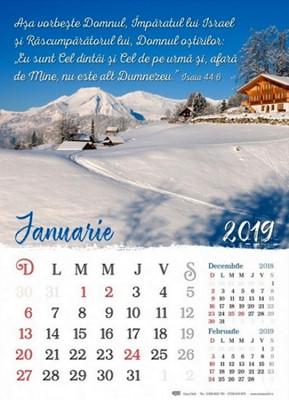 Calendar 2019 - format A3, 12 file