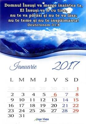 Calendar 2018 A4 cu versete