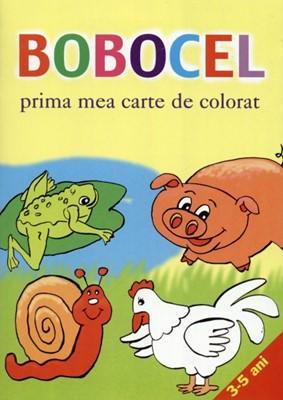 Bobocel, prima mea carte de colorat (sc)