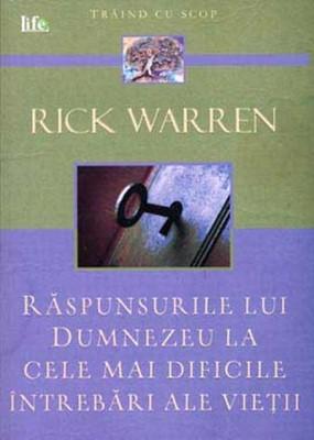 Raspunsurile lui Dumnezeu la cele mai dificile întrebări ale vieții (Paperback)