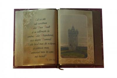 Carte decorativă mare - Psalmul 91:1,2