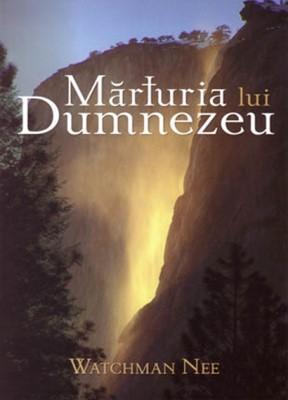 Mărturia lui Dumnezeu (paperback)