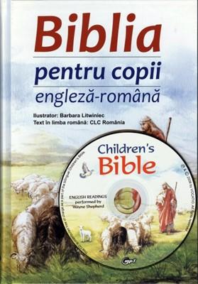 Biblia pentru copii, engleză & română + CD engleză