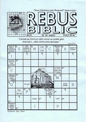 Rebus Biblic, nr 21