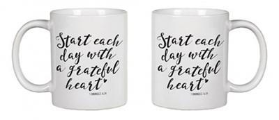 Cană: Start each day