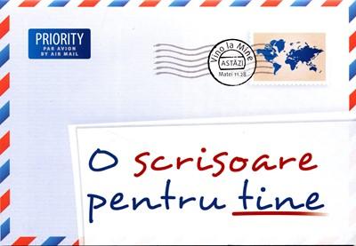 O scrisoare pentru tine