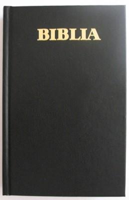 Biblia - format foarte mare, coperta simpla, Cuvintele Domnului Isus în Roşu, (HB)