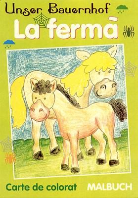 La fermă - carte de colorat