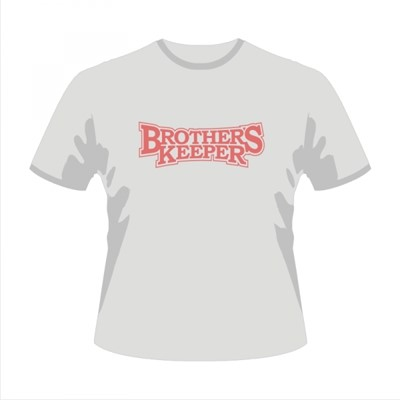 Tricou - Brother's Keeper - L gri