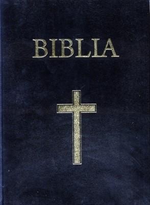 Biblia mare, coperta carton