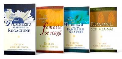 Ofertă, 4 cărți cu 50 RON. Despre rugăciune de Evelyn Christenson