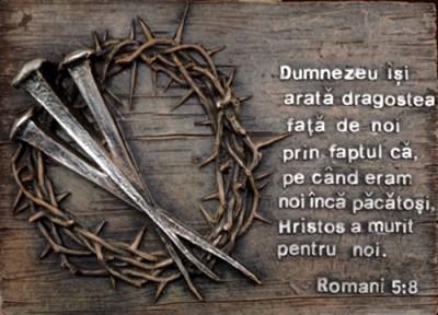 Ornament - Coroana de spini (Romani 5.8)