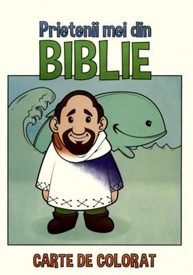 Prietenii mei din Biblie, carte de colorat