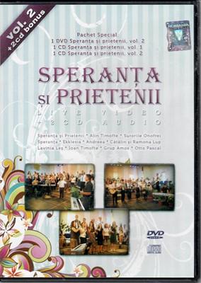 Speranţa şi prietenii - vol. 2 - 1 DVD si 2 CDuri
