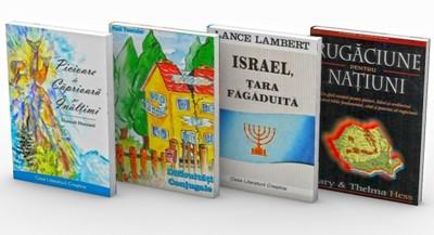 OFERTA SĂPTĂMÂNII - 4 cărți la 10 RON - Rugăciune pentru națiuni, Dificultăți conjugale, Israel țara făgăduită, Picioare de căprioară pe înălțimi.