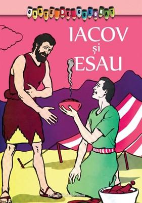 Carte de colorat. Iacov si Esau