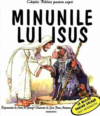 Cărţile Bibliei pentru copii. Minunile lui Isus (SC)