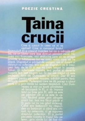 Taina crucii - Poezie creştină (sc)