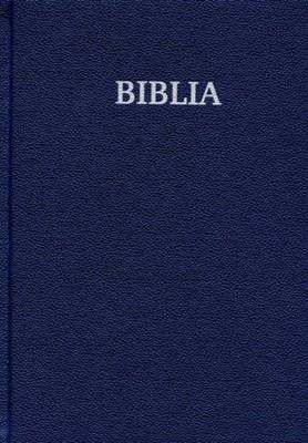 Biblia - format foarte mare, copertă albastră