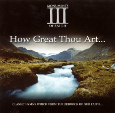 How Great Thou Art...