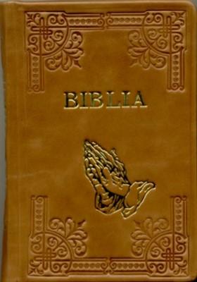 Biblia handmade format , aurita cu index si fermoar