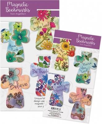 Semn de carte magnetic cu flori