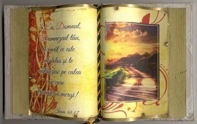 Carte decorativă mare. Isaia 48:17