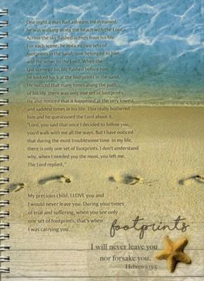 Jurnal cu spirală - Footprints