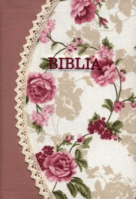 Biblia handmade - model fluture, margini aurii