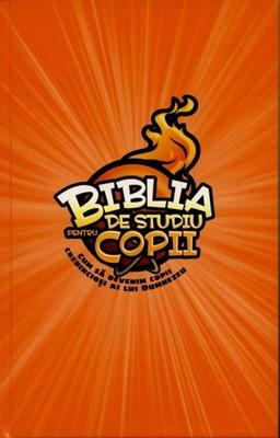 Biblia de studiu pentru copii - ediţie cartonată