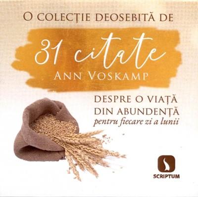 31 citate Ann Voskamp - set