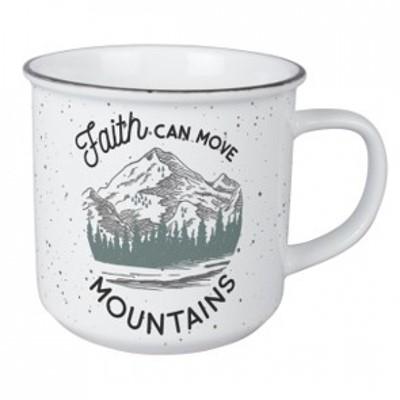 Cană - Faith can move mountains