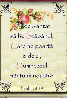 Pergament - Psalm 68.19