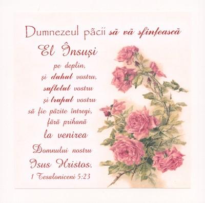 Tablou vintage - Tesaloniceni 5:23