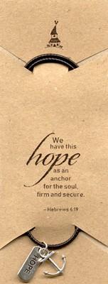 Pandantiv cu şnur Hope şi Ancoră