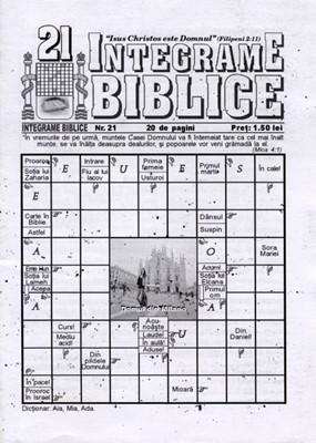 Integrame biblice, nr. 21