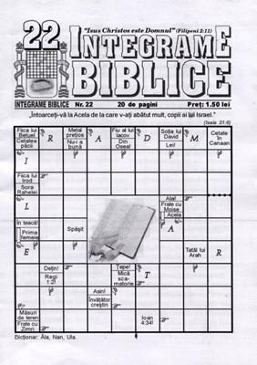 Integrame biblice, nr. 22