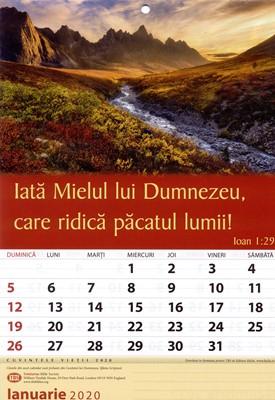 Calendar A4: 2020, limba romana
