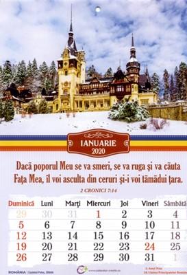 Calendar A4: 2020, Romania