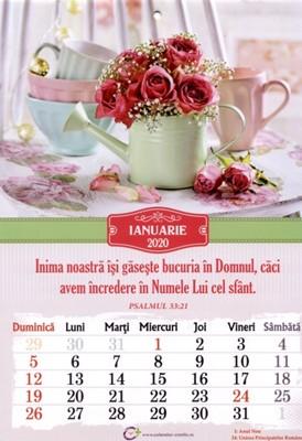 Calendar A4: 2020, flori