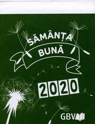 Sămânţa bună 2020 de perete - calendar