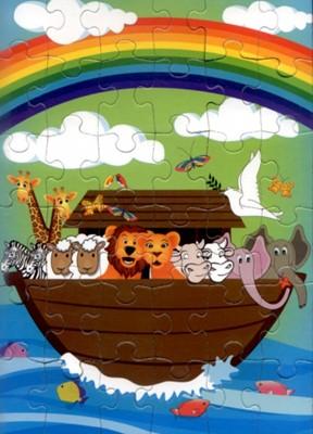 Puzzle cu arca lui Noe