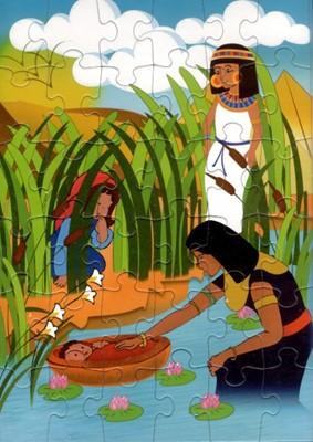 Puzzle cu Moise