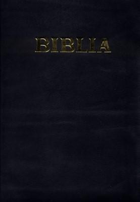 Biblia planului profetic - cu concordanţă, hărţi şi explicaţii, margini aurii, cuvintele D-lui Isus în roşu, cu fermoar, coperţi de piele